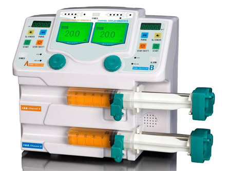 CNME-810TU Dual Channel Syringe Pump With Drug Library